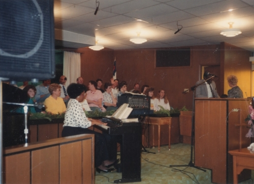 1992 Revival Choir at Southwest Baptist Church Wichita, KS