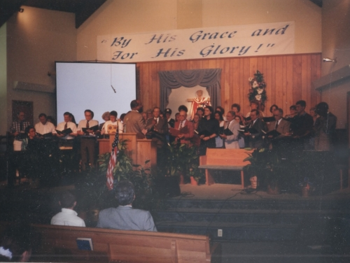1993 Revival Choir - July