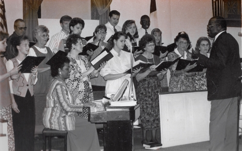 1995 First Baptist Church, Shelbina, MO